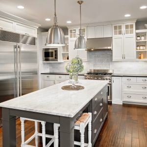 engineered hardwood kitchen | Total Flooring Source